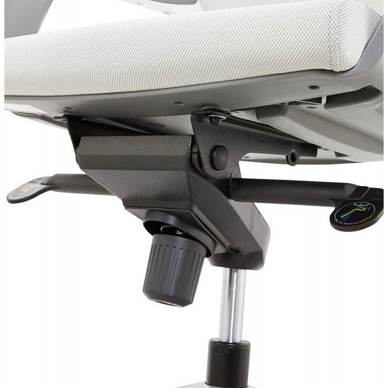 Ergonomic desk RAMY (grey) fabric Chair - image 23563