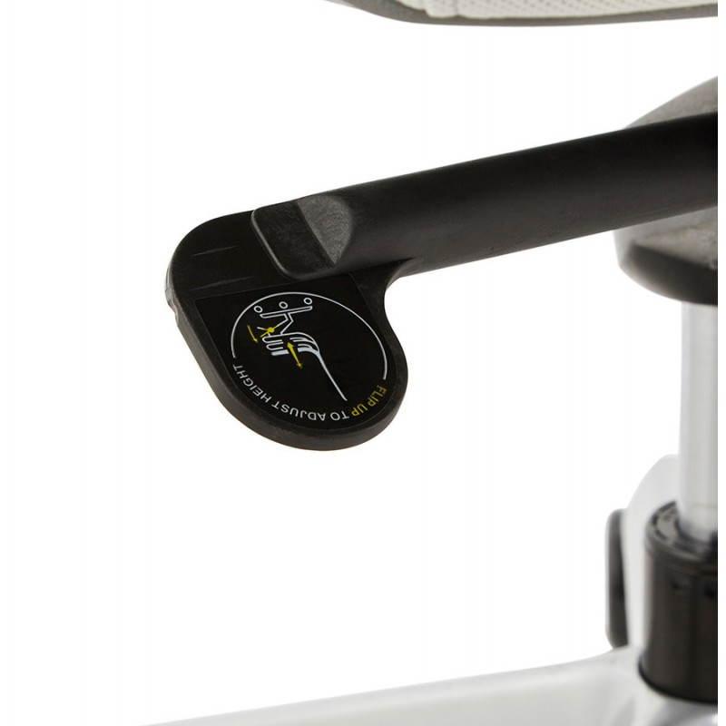 Ergonomic desk RAMY (grey) fabric Chair - image 23565