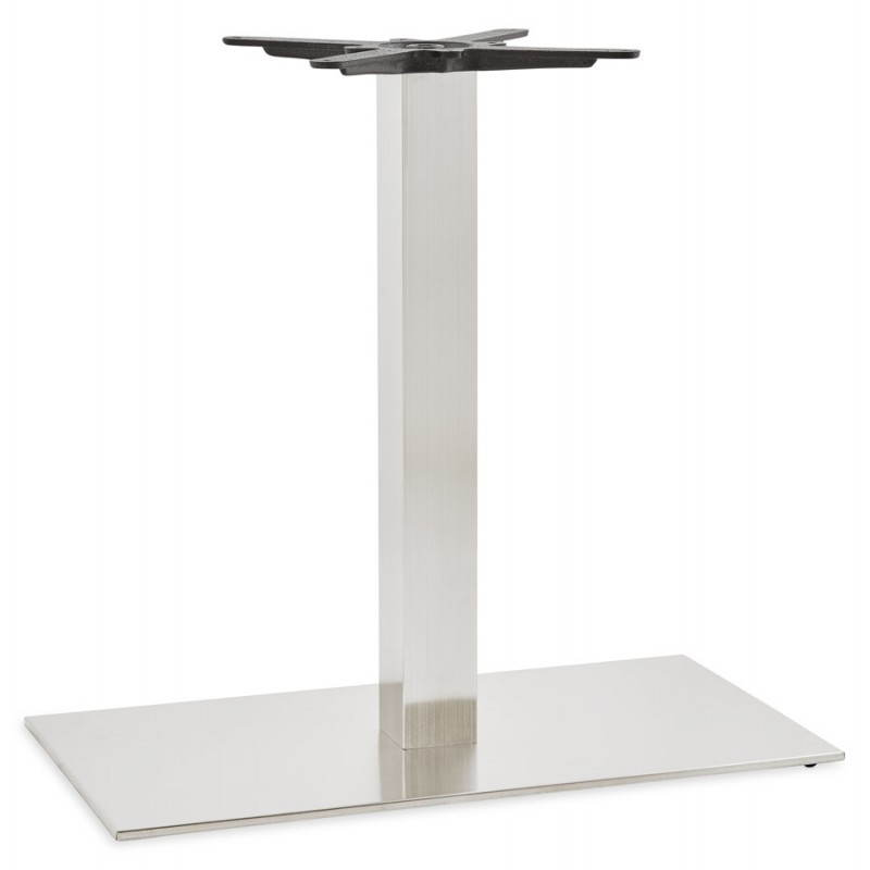 Pied de table POULI en métal brossé (40cmX75cmX75cm) - image 23589