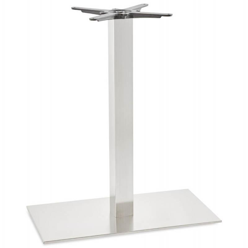 Pied de table POULI en métal brossé (40cmX75cmX90cm) - image 23598