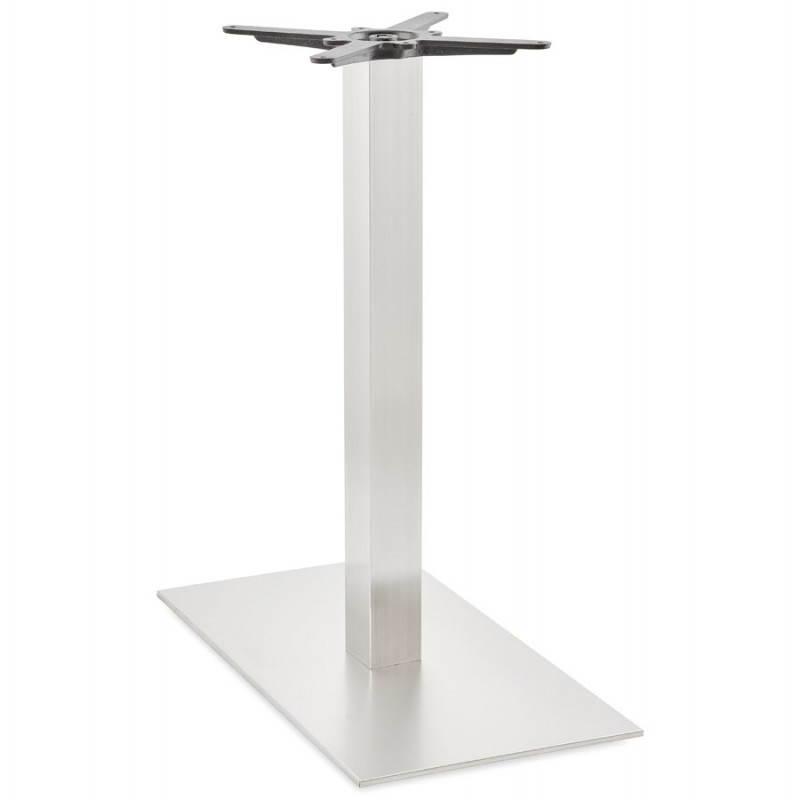 Pied de table POULI en métal brossé (40cmX75cmX90cm) - image 23601