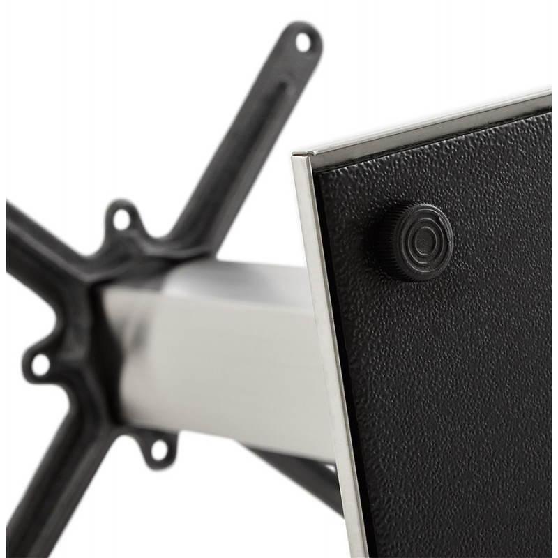 Pied de table POULI en métal brossé (40cmX75cmX90cm) - image 23604
