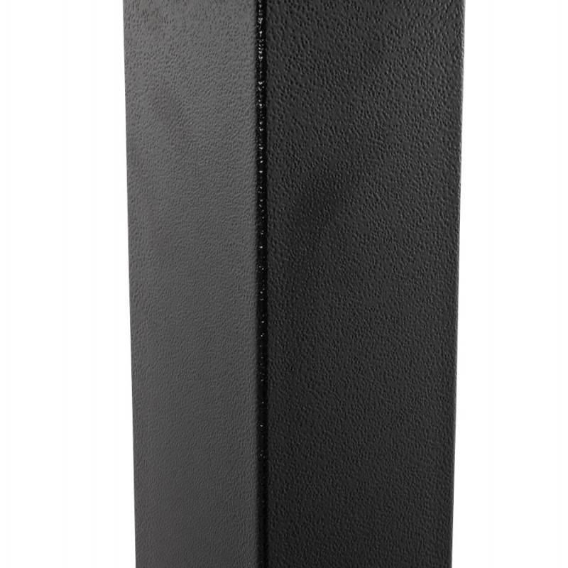 Doppelter Tischfuß RAMBOU aus lackierter Metall (50cmX100cmX73cm) (schwarz) - image 23612