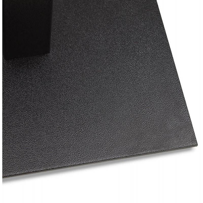 Doppelter Tischfuß RAMBOU aus lackierter Metall (50cmX100cmX73cm) (schwarz) - image 23613