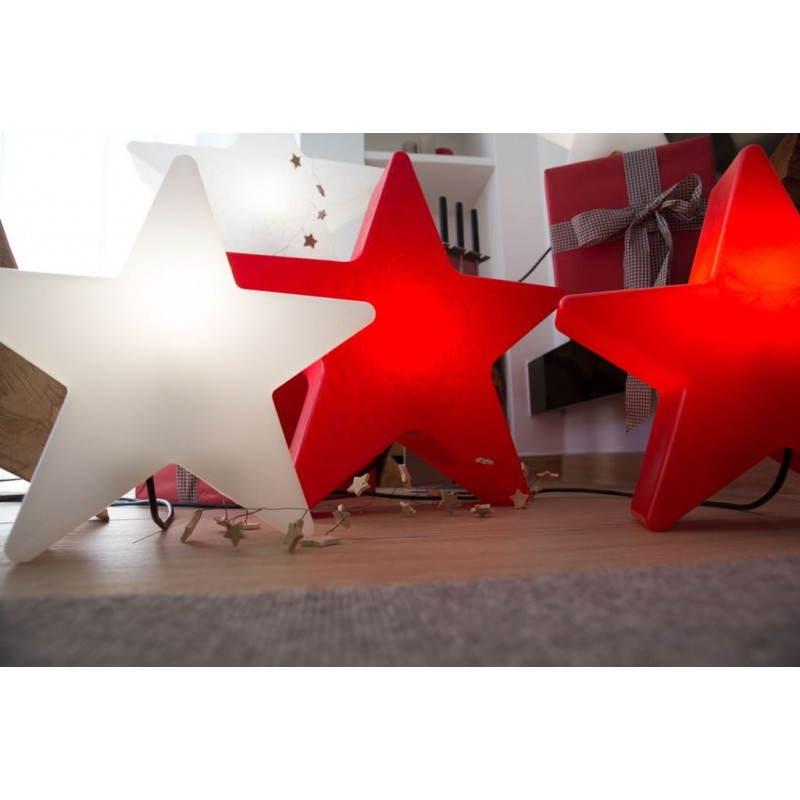 Etoile lumineuse intérieur extérieur DANA (blanc, LED multicolore Ø 60 cm) - image 23974