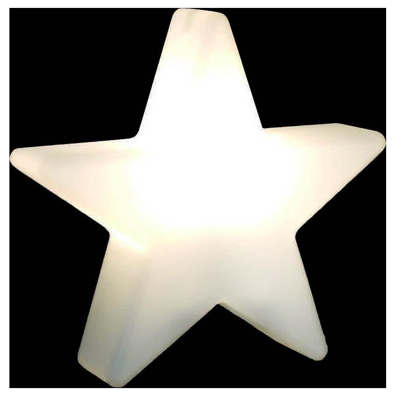 Etoile lumineuse intérieur extérieur DANA (blanc, LED multicolore Ø 60 cm)