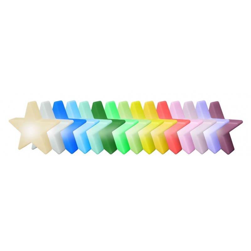 Etoile lumineuse intérieur extérieur DANA (blanc, LED multicolore Ø 60 cm) - image 23985