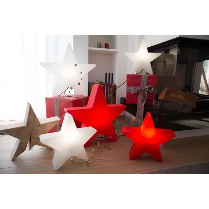 Sterne hell außen innen DANA (weiß, mehrfarbigen LED Ø 40 cm) - image 24307