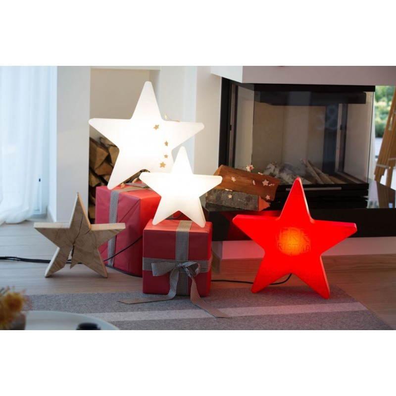 Sterne hell außen innen DANA (weiß, mehrfarbigen LED Ø 40 cm) - image 24308