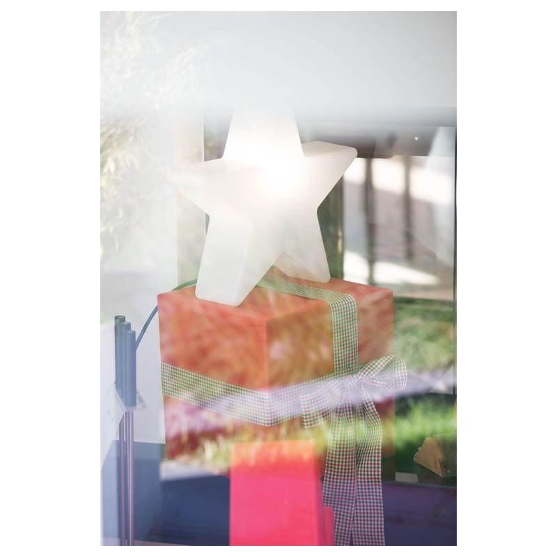 Sterne hell außen innen DANA (weiß, mehrfarbigen LED Ø 40 cm) - image 24312