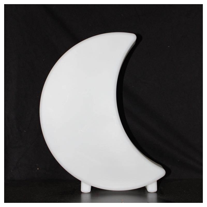 Lune lumineuse MOON intérieur extérieur (blanc, LED multicolore, H 41 cm) - image 24347