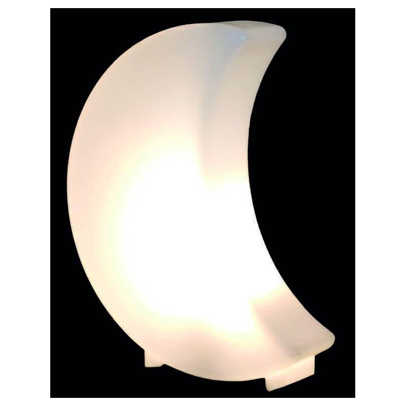 Lune lumineuse MOON intérieur extérieur (blanc, LED multicolore, H 41 cm) - image 24350