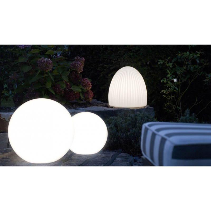 Lampe lumineuse CLOCHE intérieur extérieur (blanc, LED multicolore) - image 24447