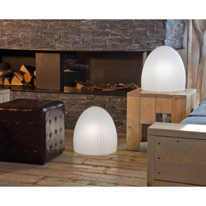 Lampe lumineuse CLOCHE intérieur extérieur (blanc, LED multicolore) - image 24451
