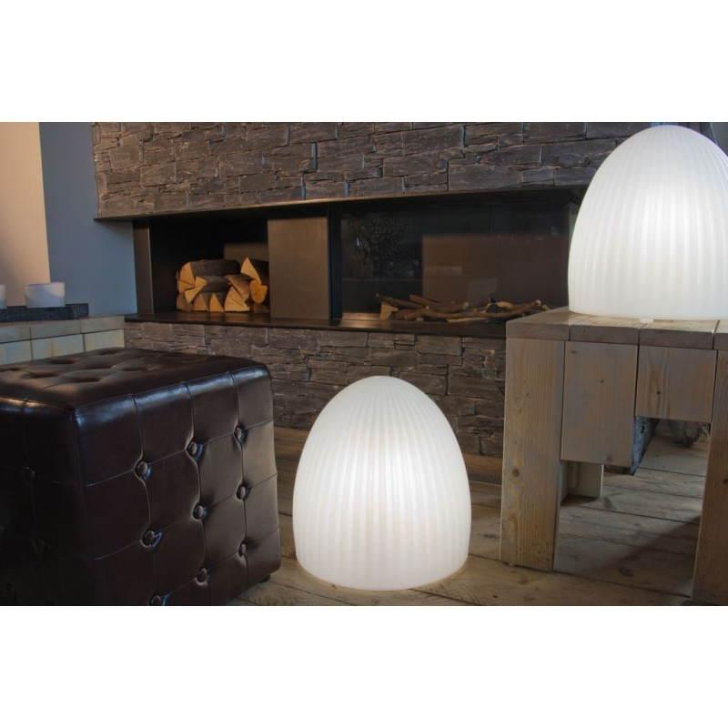 Lampe lumineuse CLOCHE intérieur extérieur (blanc, LED multicolore) - image 24452