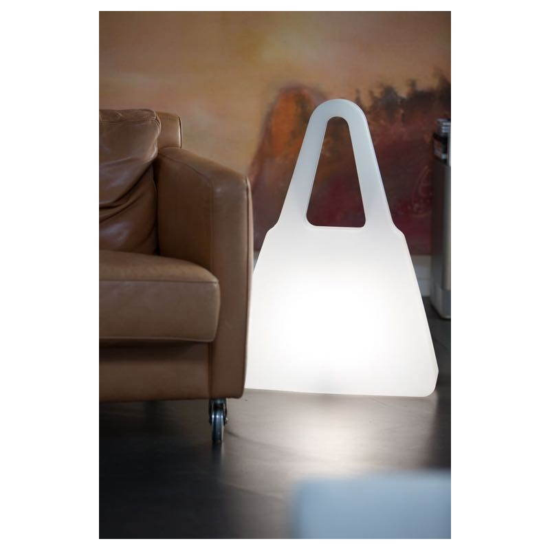 Lampe lumineuse SAC A MAIN intérieur extérieur (blanc) - image 24472