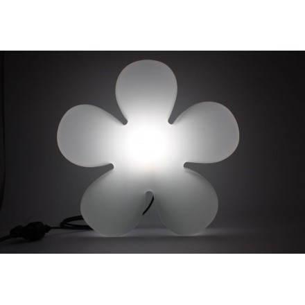 Fleur lumineuse TREFLE (blanc Ø 40 cm)