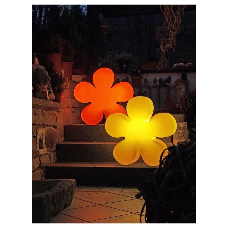 Fleur lumineuse TREFLE intérieur extérieur (jaune Ø 40 cm) - image 24588