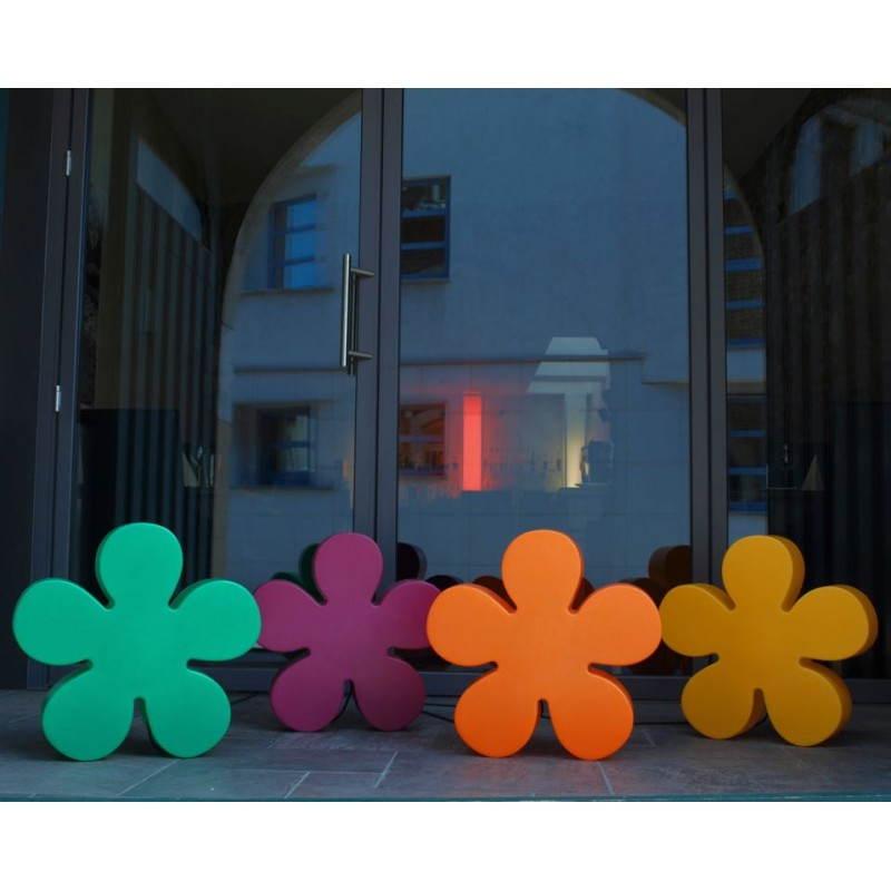 Fleur lumineuse TREFLE intérieur extérieur (jaune Ø 40 cm) - image 24590