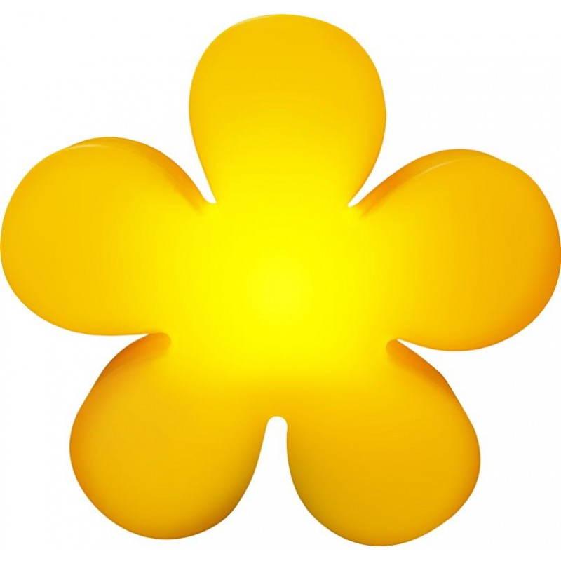 Fleur lumineuse TREFLE intérieur extérieur (jaune Ø 40 cm) - image 24593