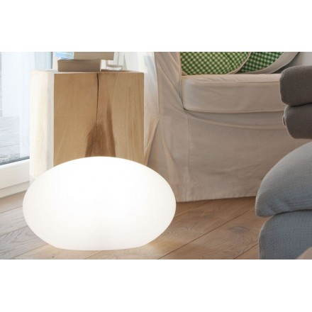 Lamp light Outdoor Indoor ŒIL (white, multicolor LED)