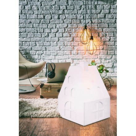 Lampe lumineuse MAISON intérieur extérieur (blanc, LED multicolore)