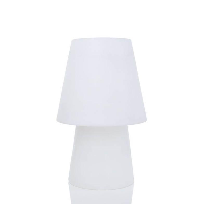 Lampe de table lumineuse MIMA intérieur extérieur (blanc, LED multicolore, H 60 cm) - image 24847