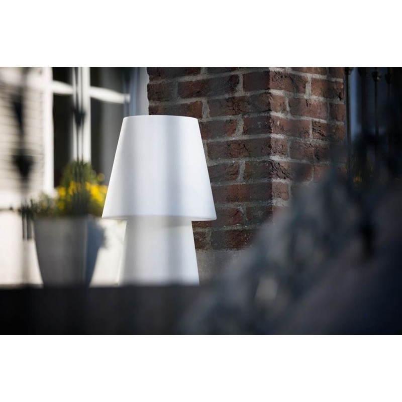 Lampe de table lumineuse MIMA intérieur extérieur (blanc, LED multicolore, H 60 cm) - image 24849