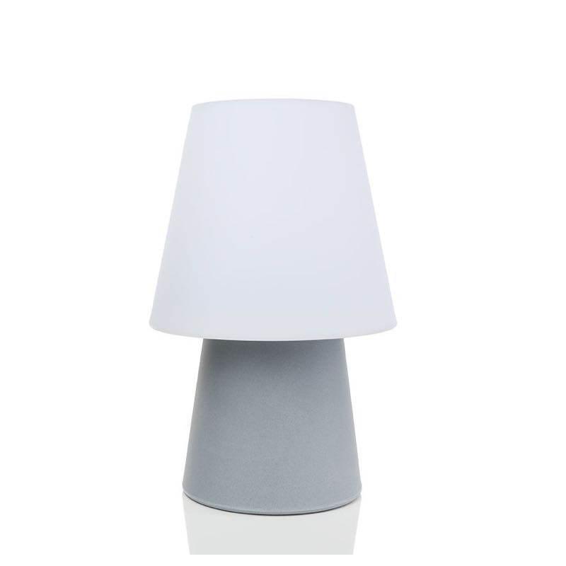 Lámpara de mesa de luz MIMA interior LED al aire libre (gris, multicolor, H 60 cm) - image 24912