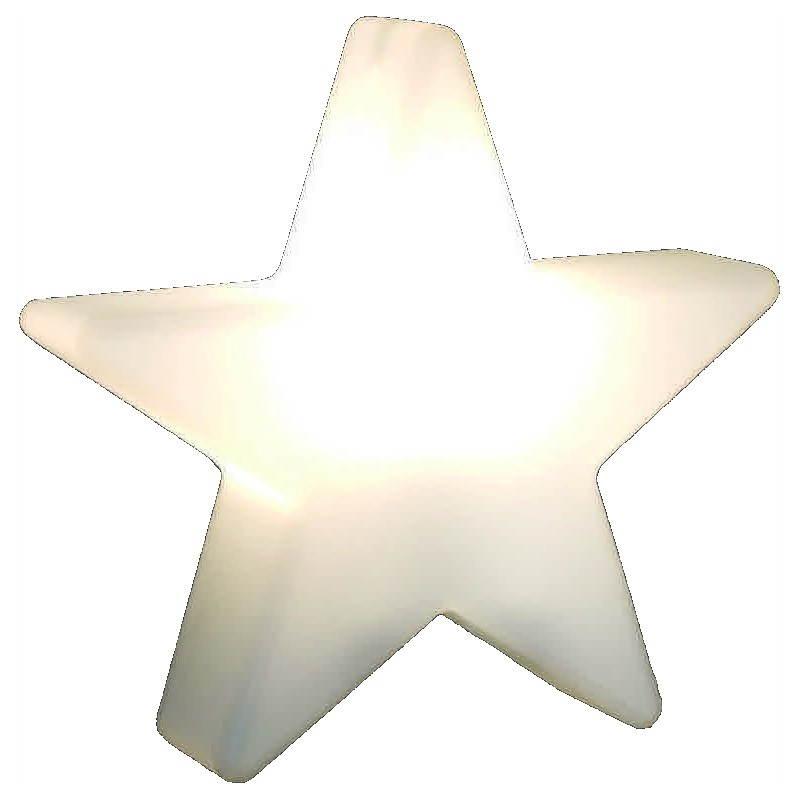 Sterne hell außen innen DANA (weiß, mehrfarbigen LED Ø 40 cm)