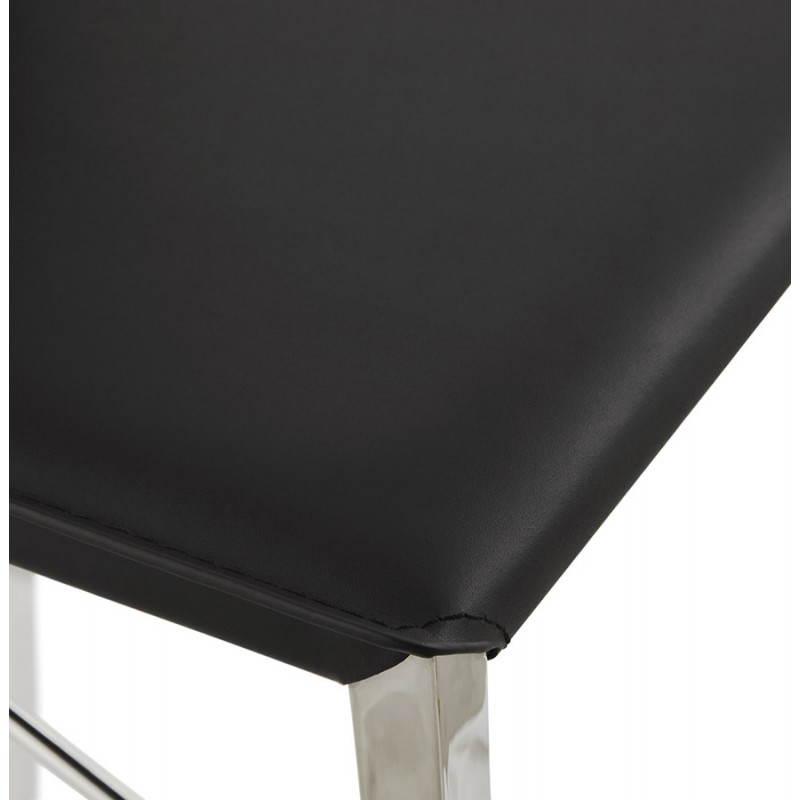 Tabouret mi hauteur design et contemporain NADIA (noir) - image 25073