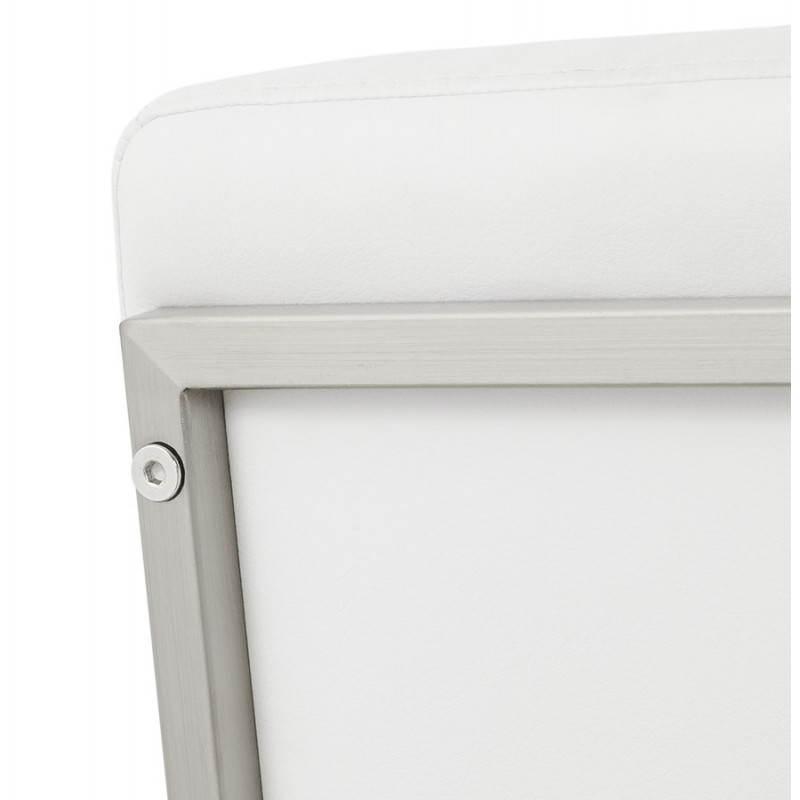 Tabouret mi hauteur design rétro DADY (blanc) - image 25090