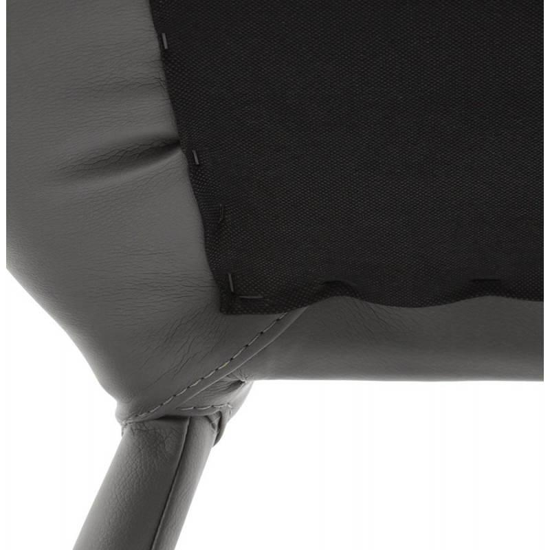 Tabouret de bar design BARBY (gris foncé) - image 25132