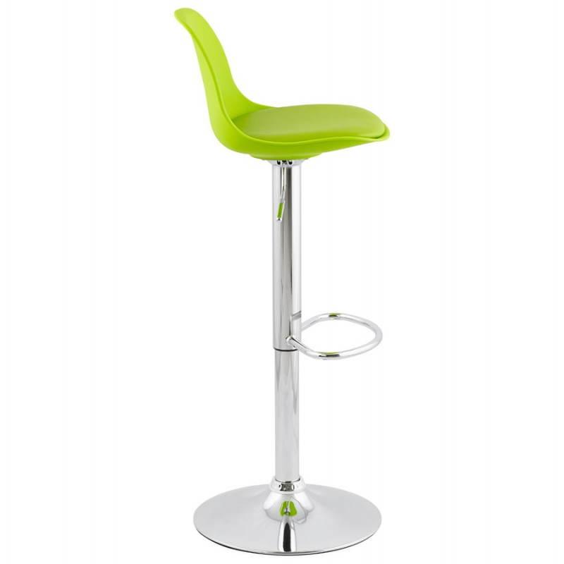 tabouret de bar design et compact robin vert. Black Bedroom Furniture Sets. Home Design Ideas
