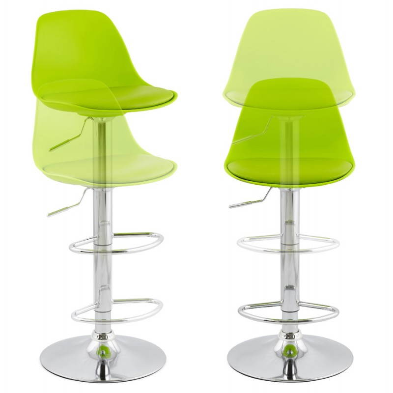 Design bar stool and compact ROBIN (green) - image 25330