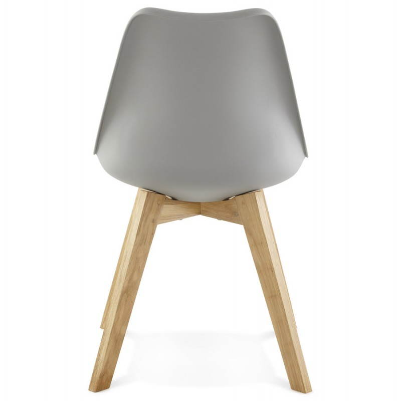 Stile moderno sedia scandinavo SIRENE (grigio) - image 25374