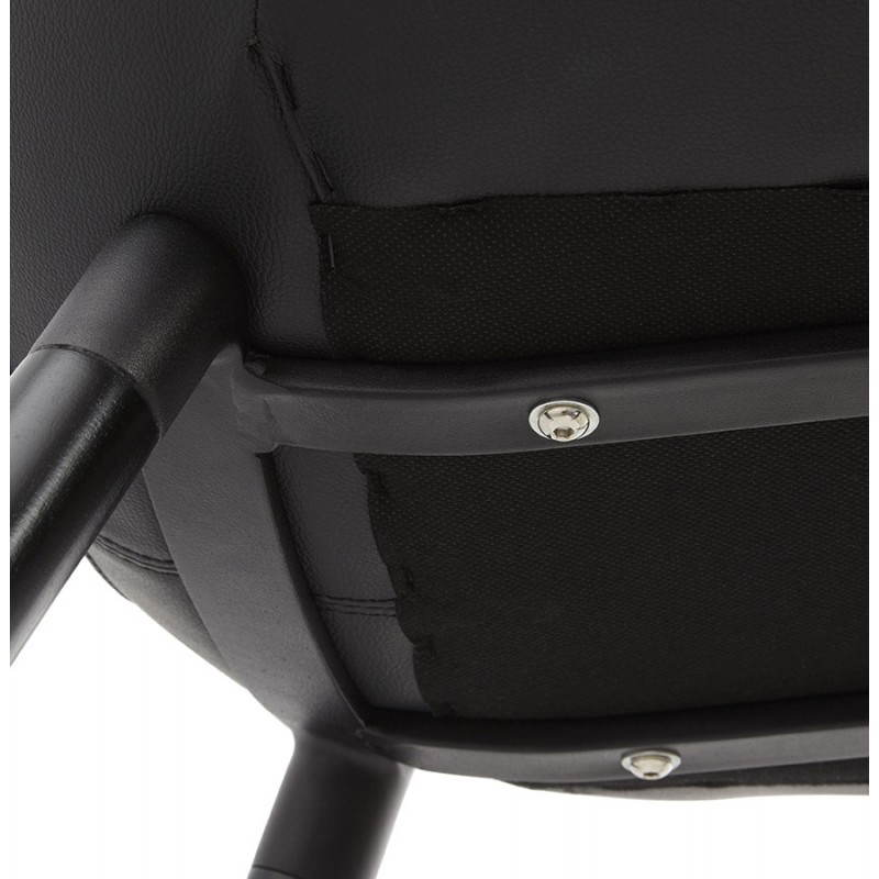 Contemporary design chair LOLA (black) - image 25450