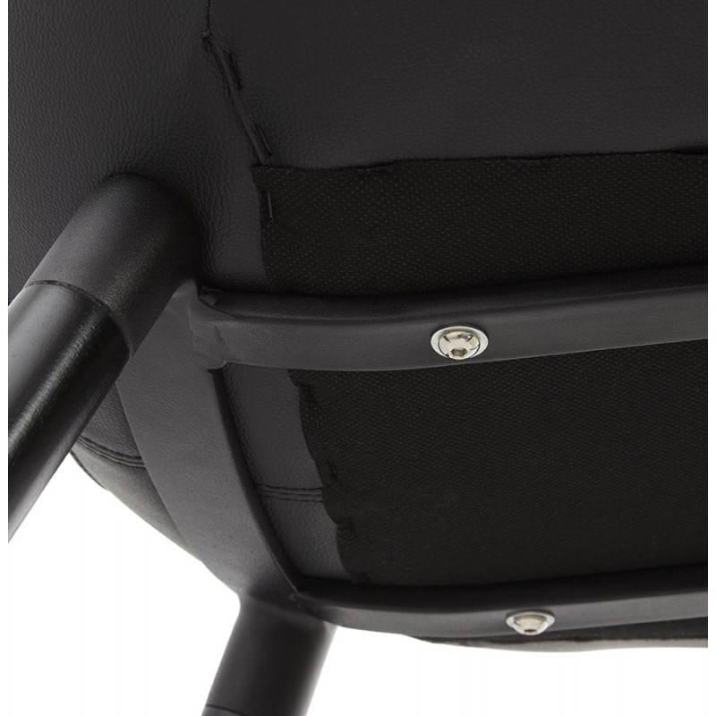 Chaise design contemporaine LOLA (noir) - image 25450