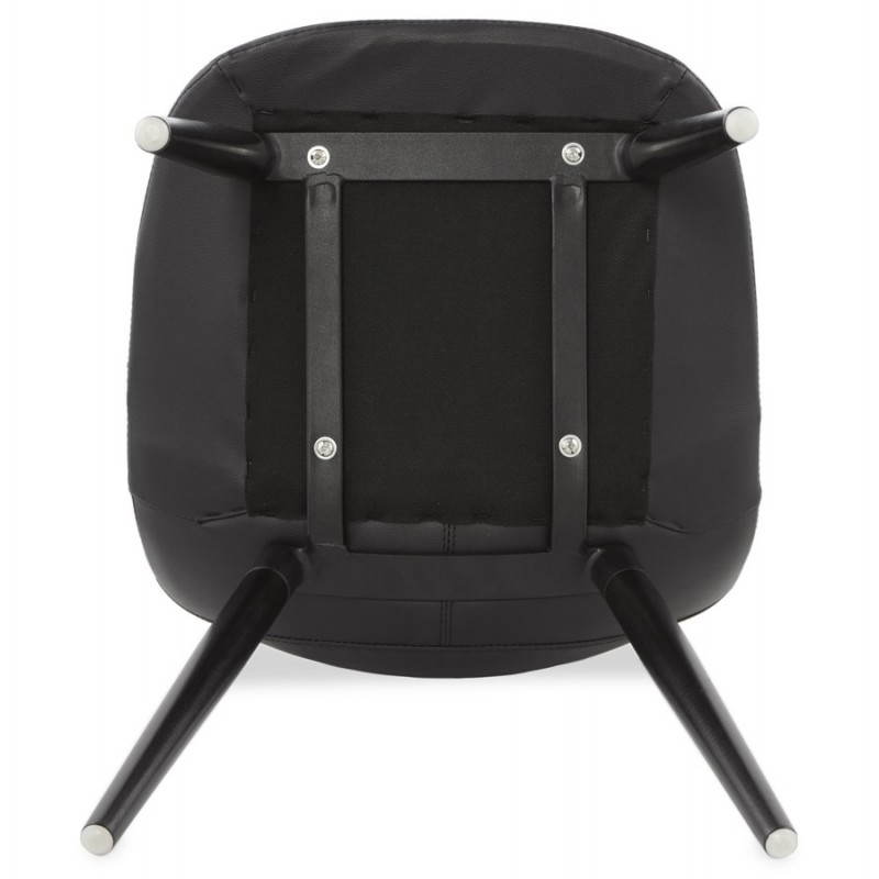 Contemporary design chair LOLA (black) - image 25452