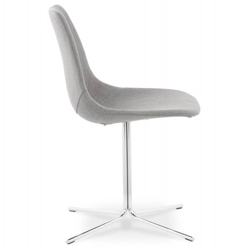 Chaise design contemporaine OFEN en tissu (gris) - image 25456