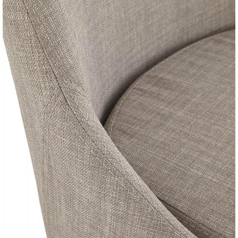 (Grau) Stoff retro Design-Stuhl VAIDYA - image 25477