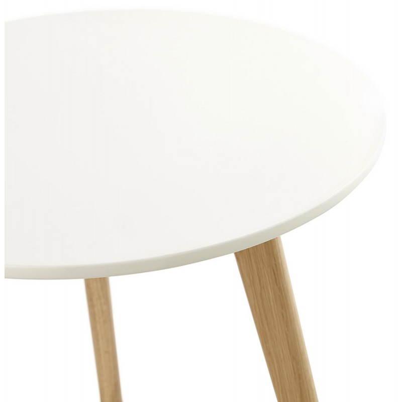 Tables basses design gigognes ART en bois et chêne massif (blanc) - image 25529