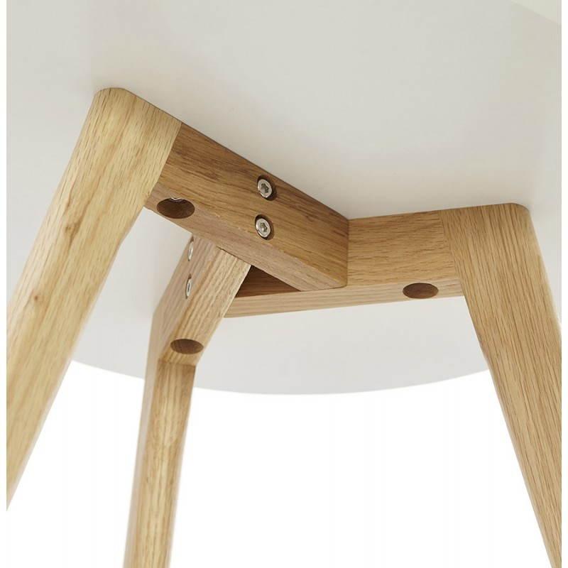 Tables basses design gigognes ART en bois et chêne massif (blanc) - image 25532