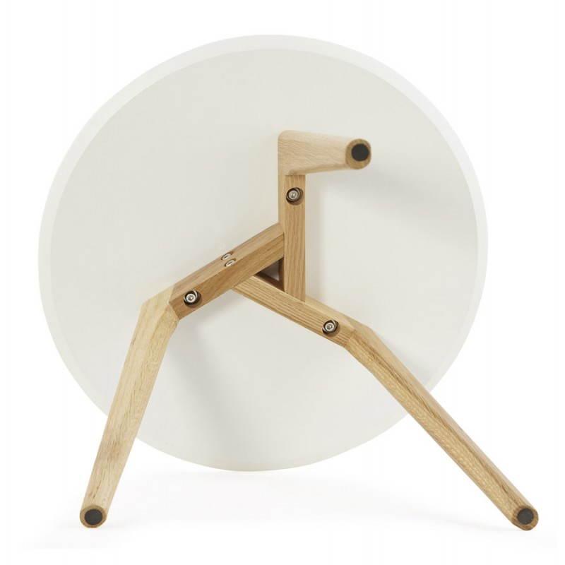 Tables basses design gigognes ART en bois et chêne massif (blanc) - image 25535