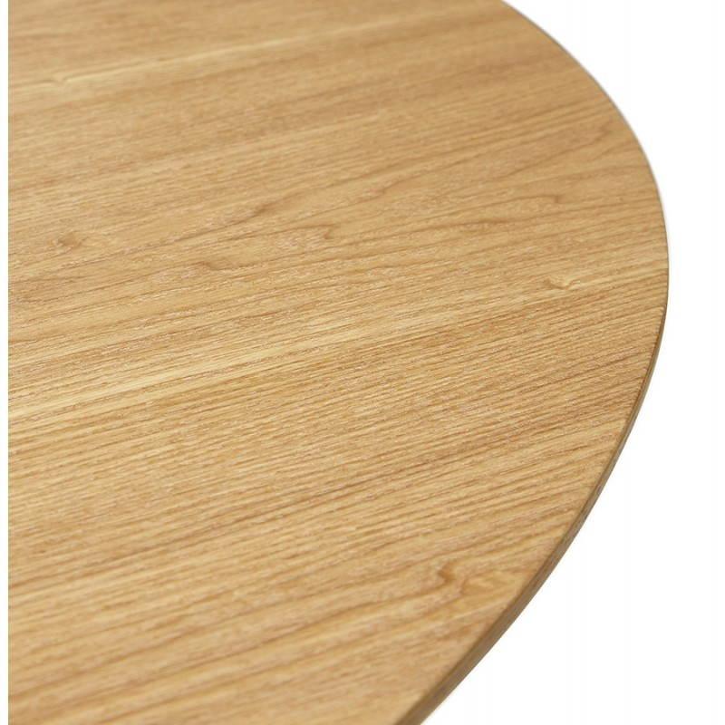 Table à manger style scandinave ronde PONY en bois (Ø 120 cm) (naturel) - image 25745