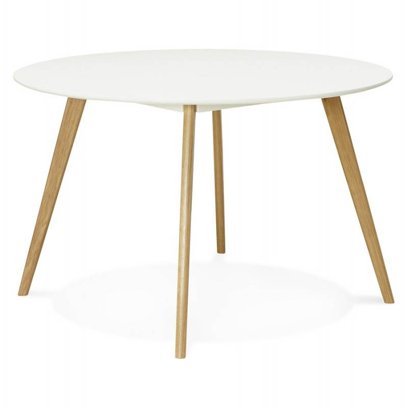 Table a manger style scandinave table salle a manger for Table de salle a manger retractable
