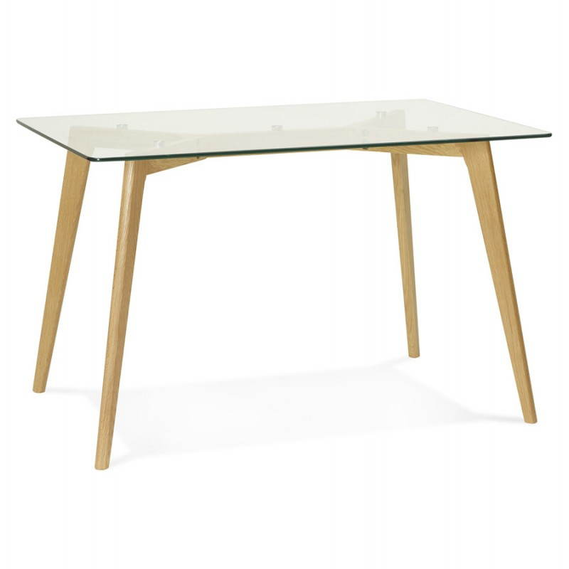 Table manger style scandinave rectangulaire varin en for Table haute design scandinave