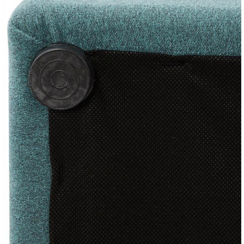 Pouf carré BARILLA en tissu (bleu) - image 25809