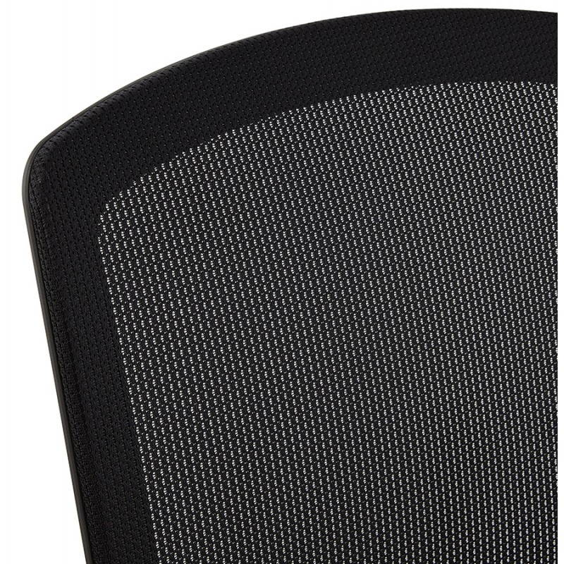 Ergonomic Office LEO (black) fabric armchair - image 25986