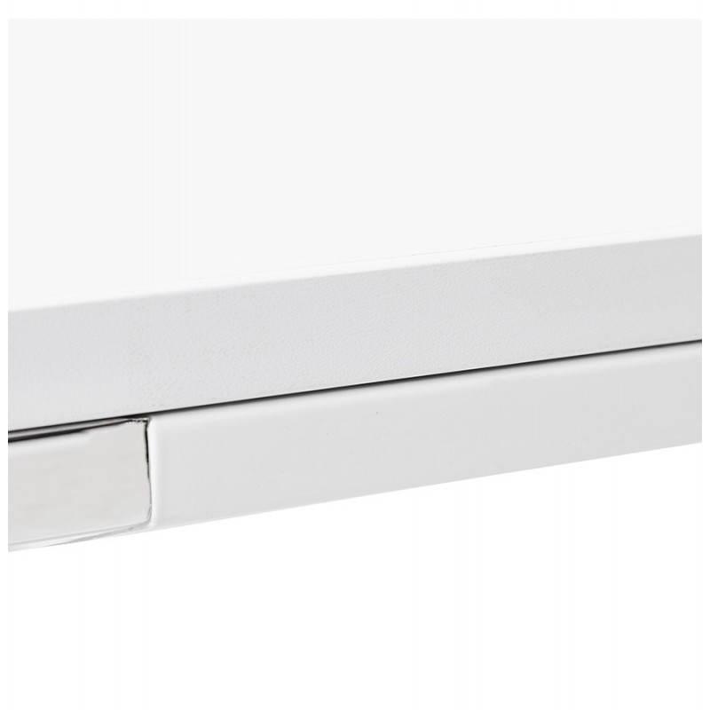 Bureau droit design BOUNY en bois (blanc) - image 26005